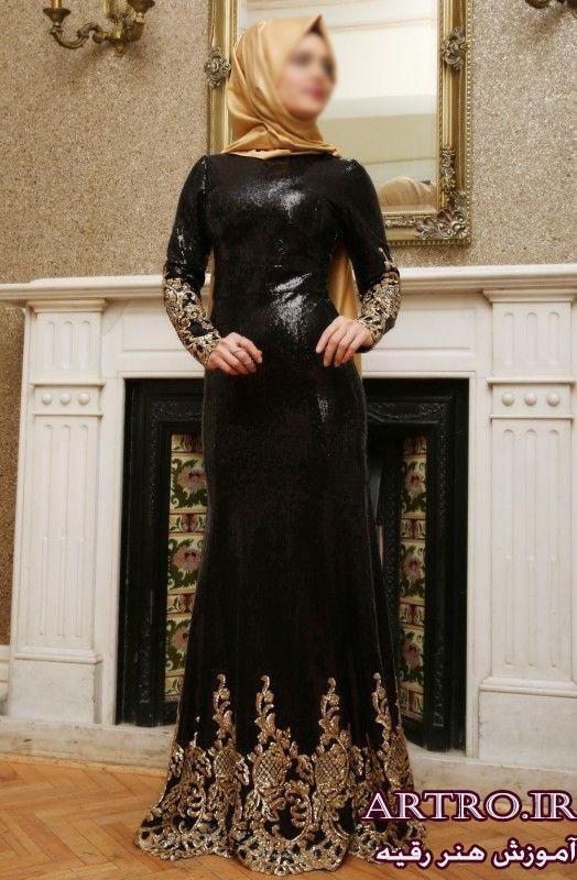 لباس مجلسی بلند پوشیده 97