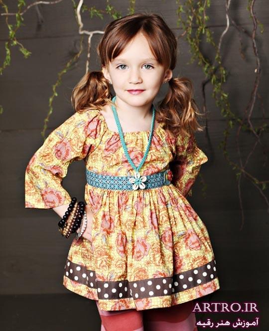 لباس دختربچه بهاری 97