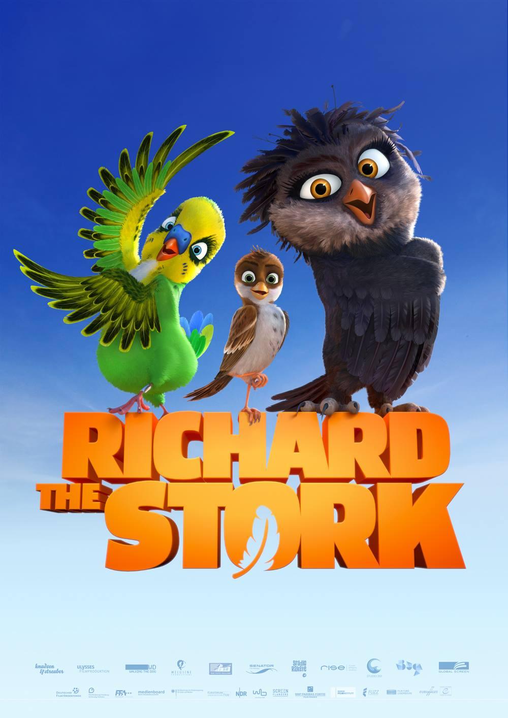 انیمیشن مهاجرت لکلکها A Stork's Journey