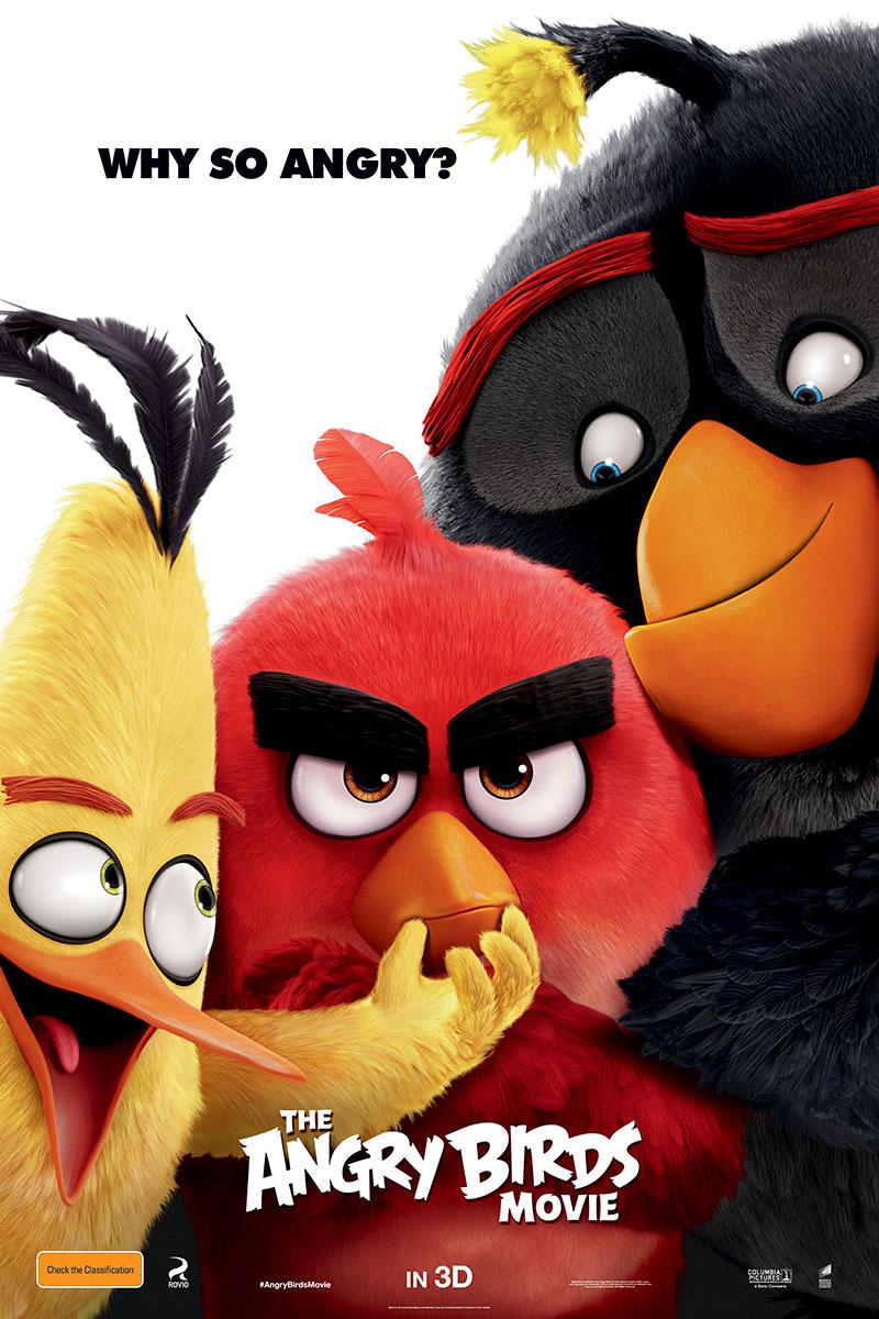 انیمیشن پرندگان خشمگین The Angry Birds Movie