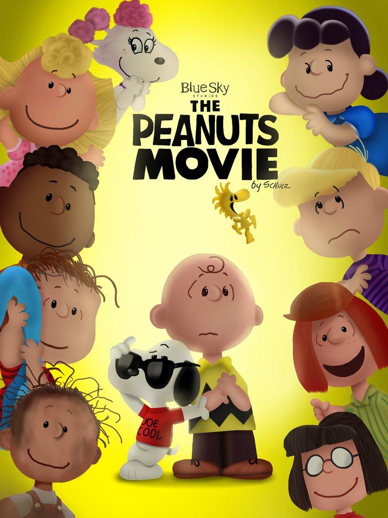 انیمیشن بادام زمینیها The Peanuts Movie