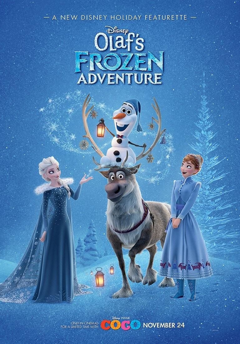انیمیشن ماجراجویی یخی اولاف2017 Olaf's Frozen Adventure