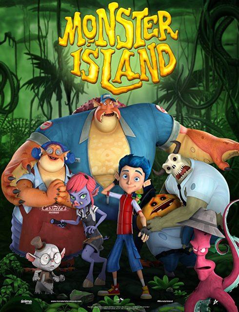 انیمیشن جزیره هیولاها 2017 Monster Island