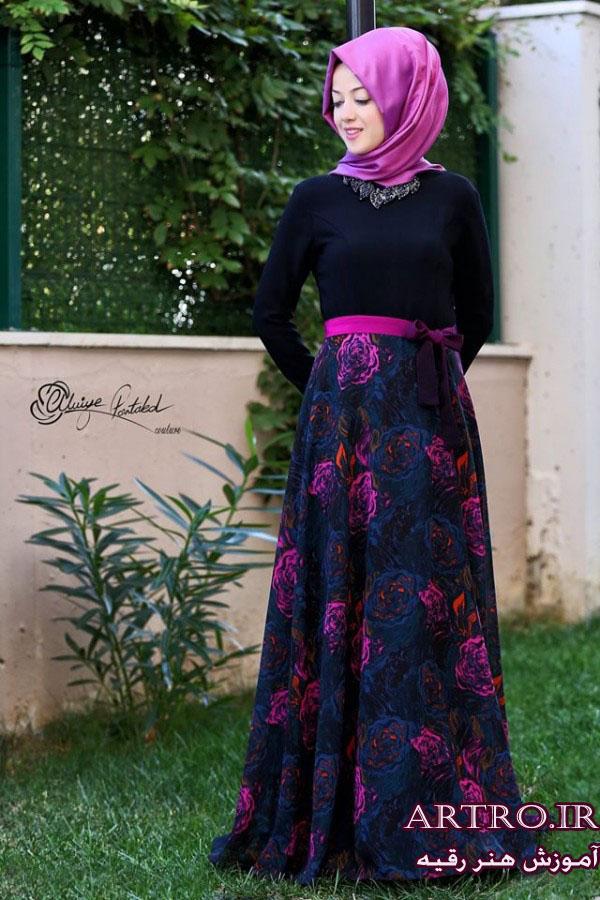 مدل لباس مجلسی پوشیده2018