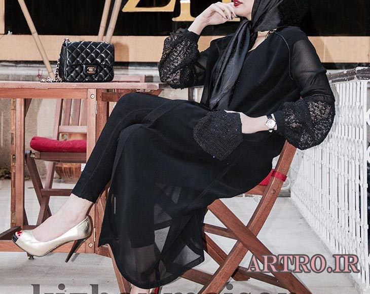 مدل مانتو حریر2018