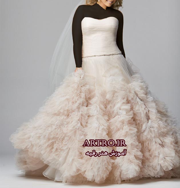 مدل لباس عروس سایز بزرگ2018