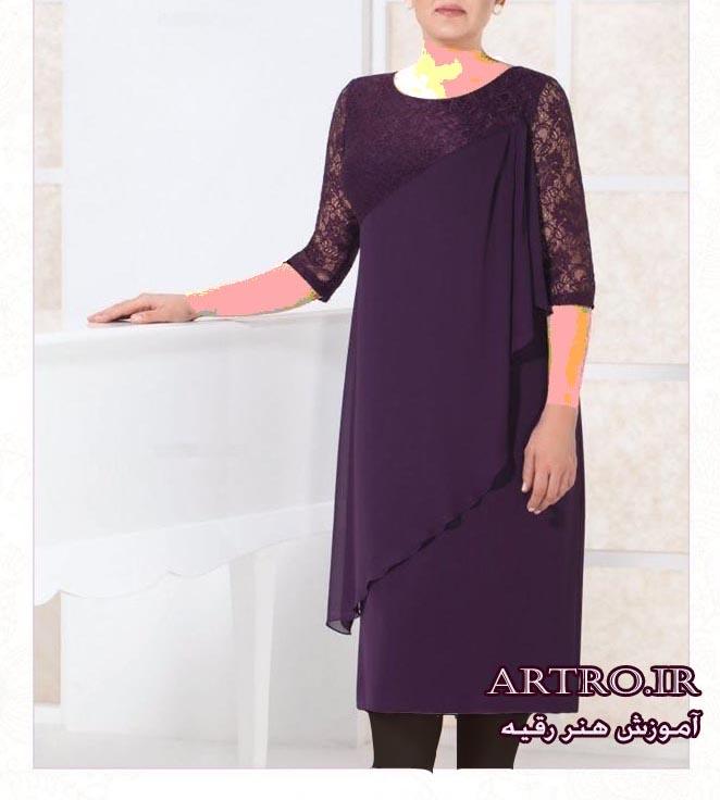 مدل لباس مجلسی زنانه سایز بزرگ2018