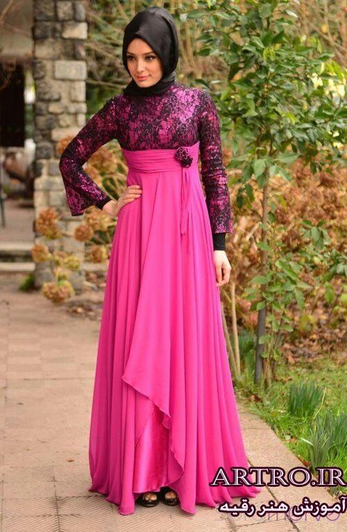 مدل لباس مجلسی زنانه بلند97