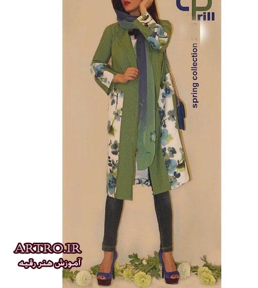 مدل مانتو دخترانه جدید97-98