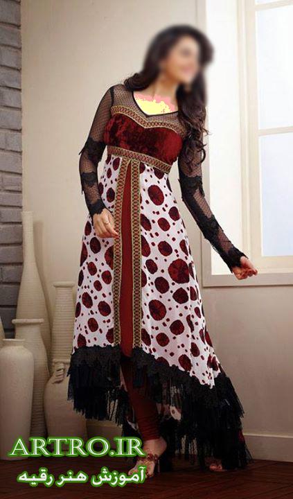 مدل لباس مجلسی زنانه هندی97