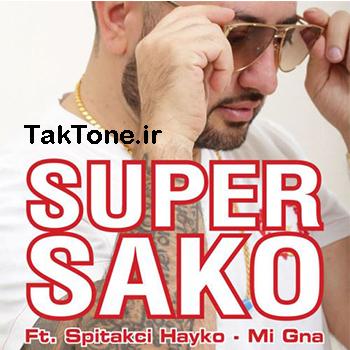 دانلود آهنگ جدید Super Sako Ft Spitak به نام Mi Gna