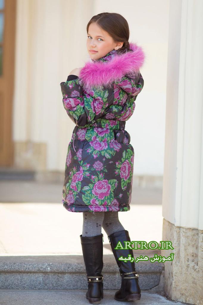 مدل پالتو دختر بچه 1