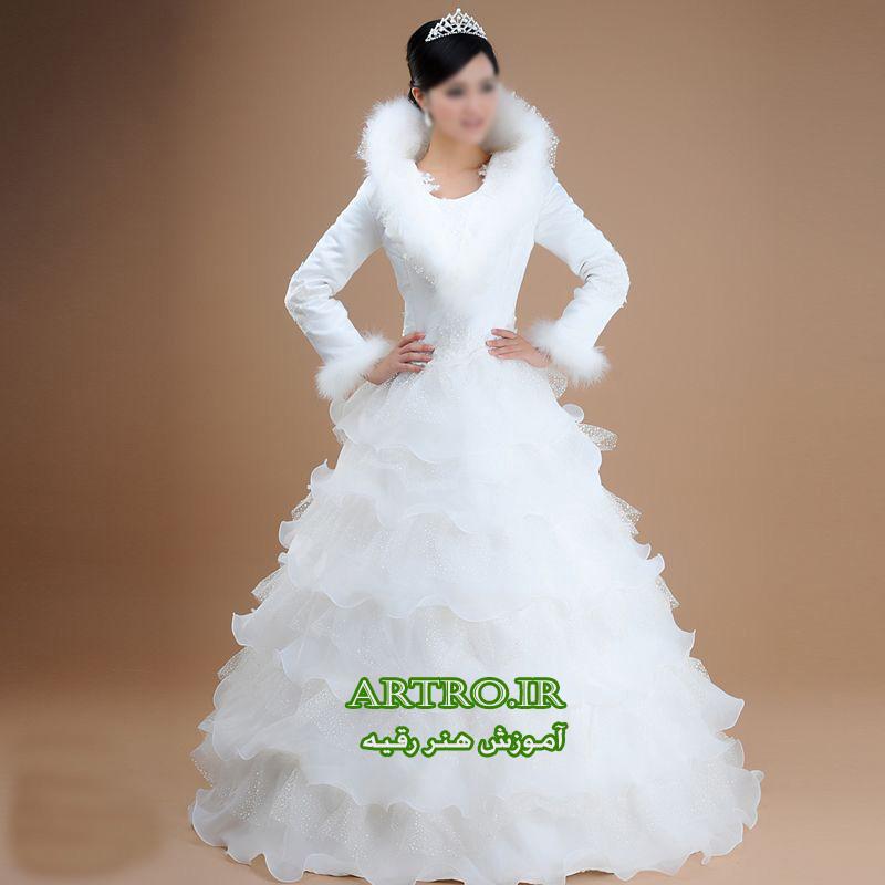 مدل لباس عروس کره ای2018