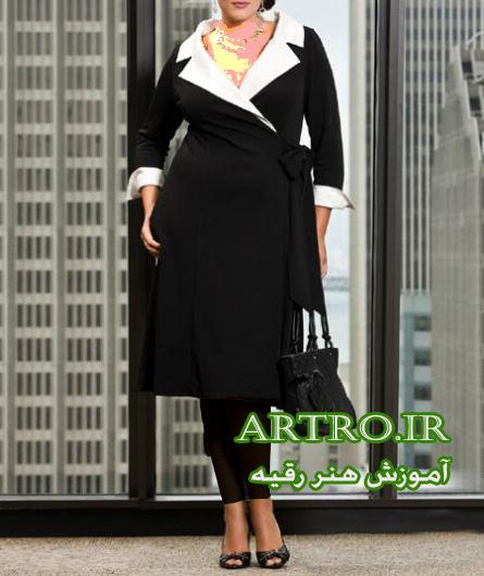 مدل مانتو زنانه سایز بزرگ97