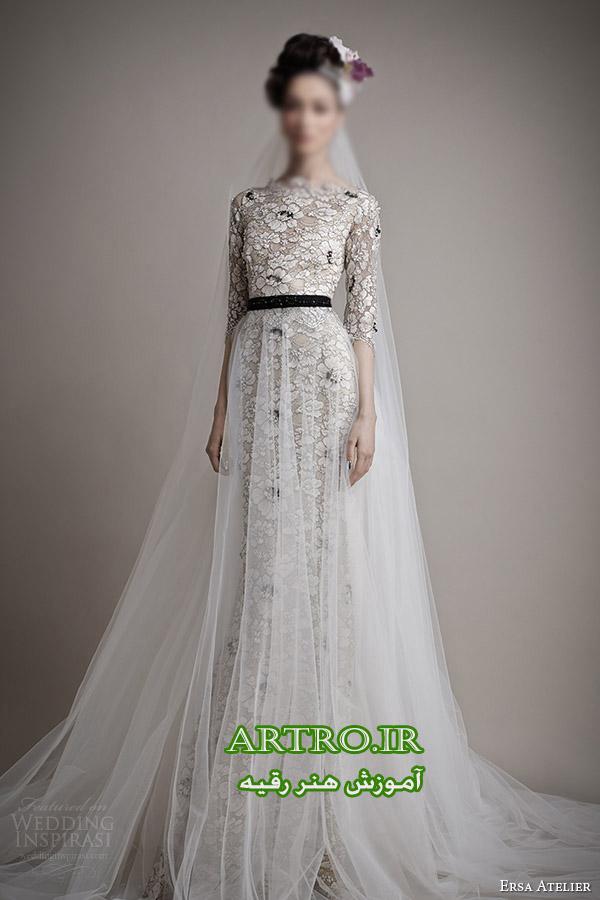 مدل لباس عروس اروپایی شیک