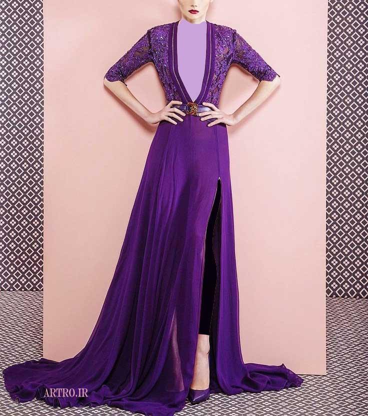 مدل لباس مجلسی بلند زنانه 2018-2019