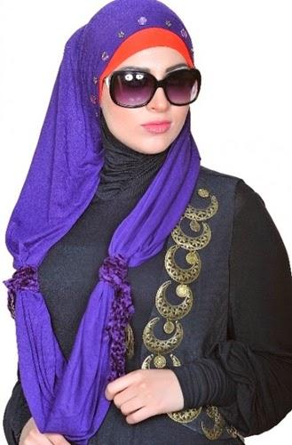 مدل بستن شال و روسری باحجاب 2018