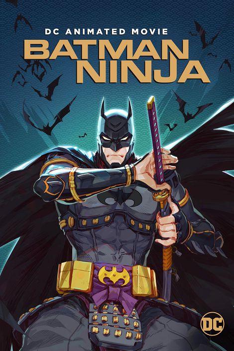 دانلود انیمیشن بتمن نینجا Batman Ninja 2018 دوبله فارسی