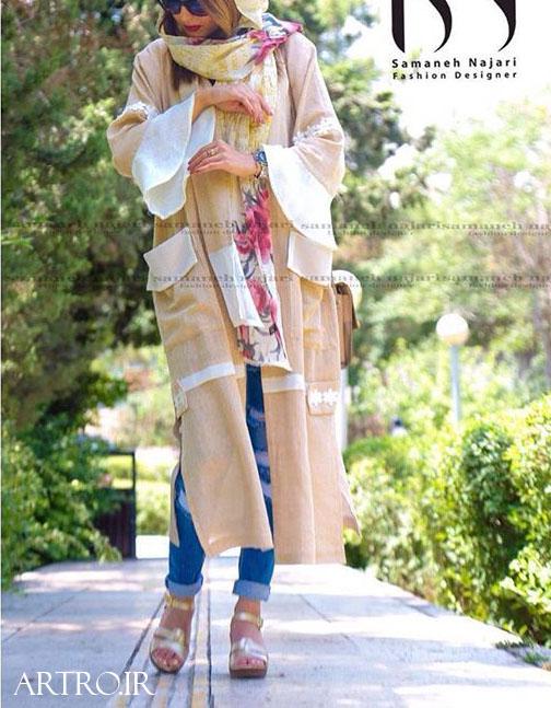مدل مانتو تابستانی دخترانه 2019
