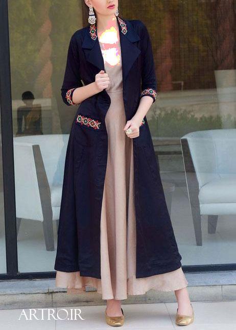 مدل مانتوی بلند زنانه سال2020
