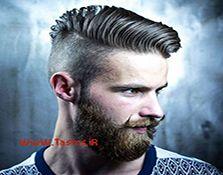 مدل مو مردانه با ته ریش و سبیل مردانه جذاب و شیک 97 - 2018