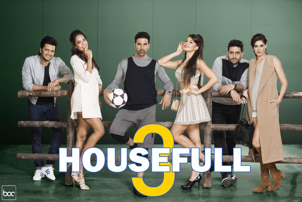 موزیک ویدیو های فیلم housefull 3 2016