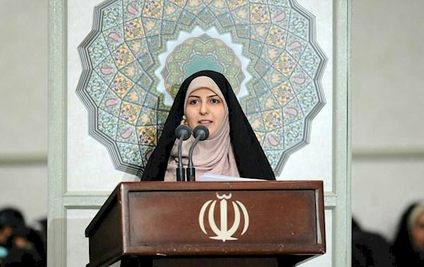 متن سخنرانی حسنا جمشیدی نماینده گروه های جهادی و دانشگاه آزاد اسلامی در دیدار با رهبری
