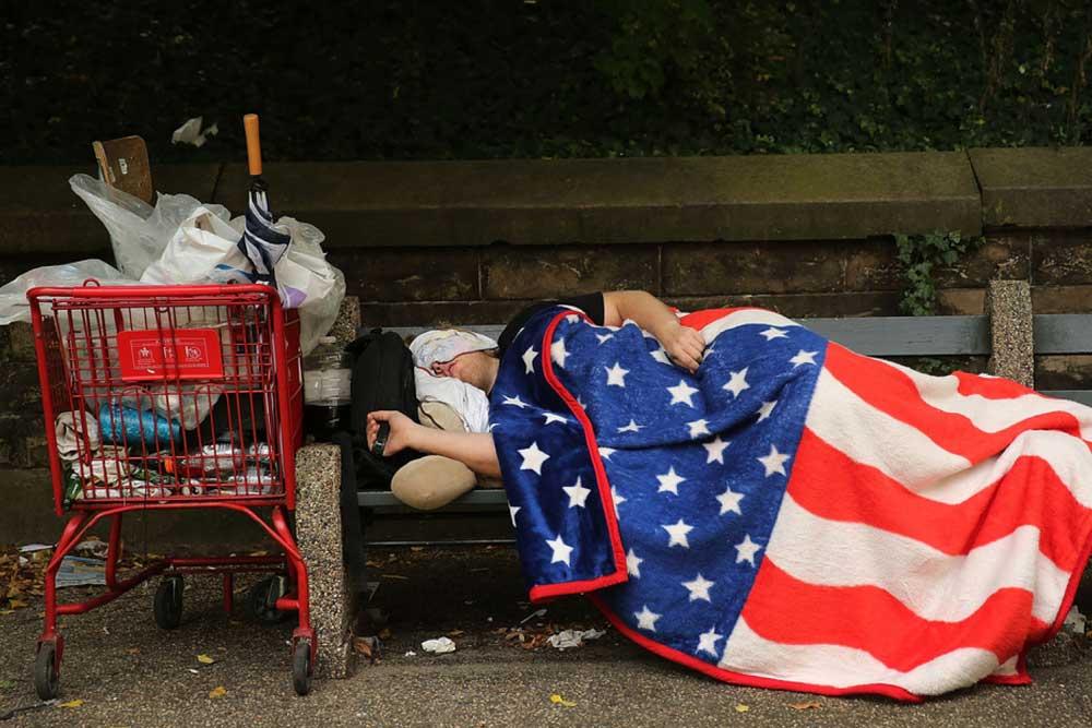 ❌همراه شما هستیم از رهبر کوچک من با بخش خارج بدون فیلتر با فقر فزاینده در آمریکا