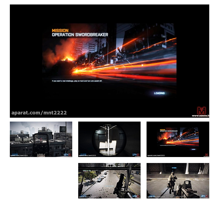 بتلفیلد3 مرحله 2(Battlefield 3 Mission 2-PC)