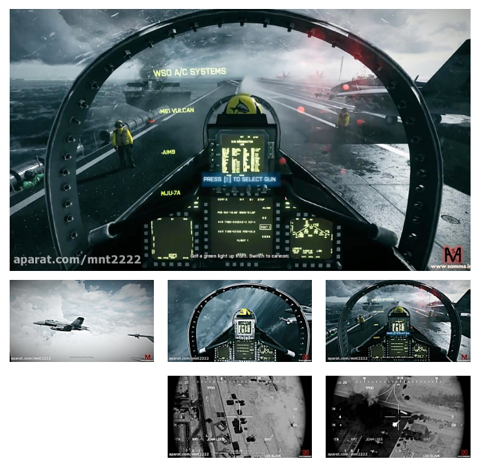 بتلفیلد3 مرحله 4(Battlefield 3 Mission 3-PC)