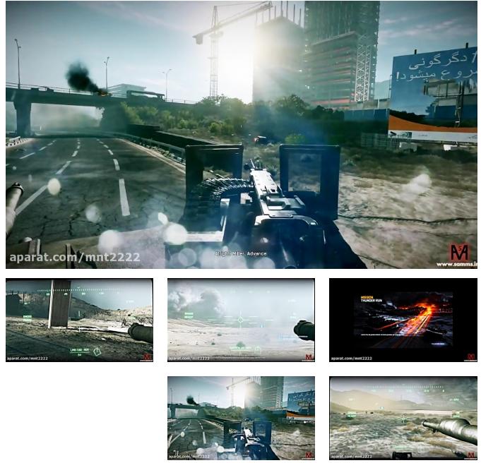 بتلفیلد3 مرحله 7(Battlefield 3 Mission 7-PC)