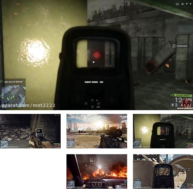 بتلفیلد4 مرحله 1(Battlefield 4 Mission 1-PC)