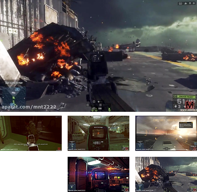 بتلفیلد4 مرحله 4(Battlefield 4 Mission 4-PC)