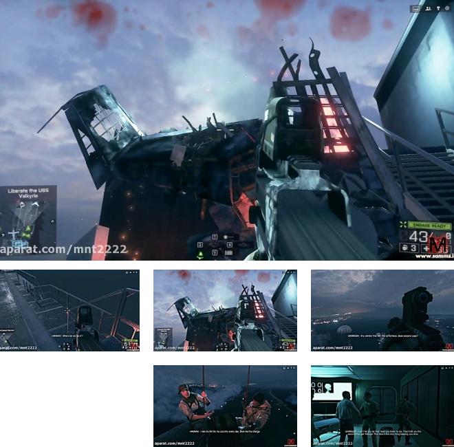 بتلفیلد4 مرحله 8 یا آخر (Battlefield 4 Mission 8-PC)