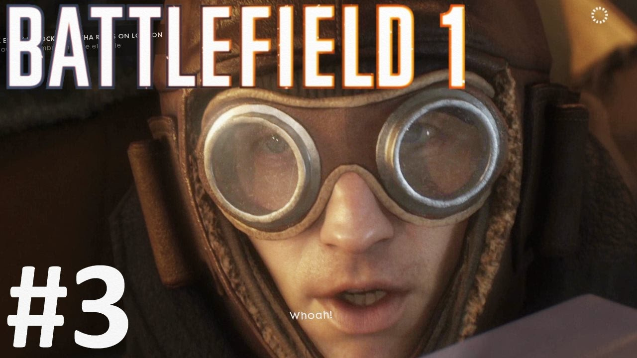 گیم پلی بازی بتلفیلد 1 مرحله 3 - Battlefield 1 Gameplay