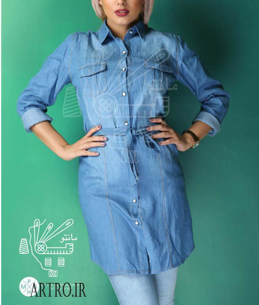 مدل مانتو دخترانه 98 تابستانی
