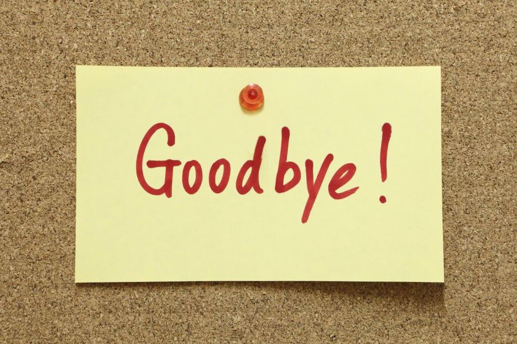 خداحافظی