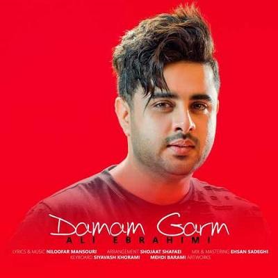 دانلود آهنگ جدید علی ابراهیمی بنام دمم گرم