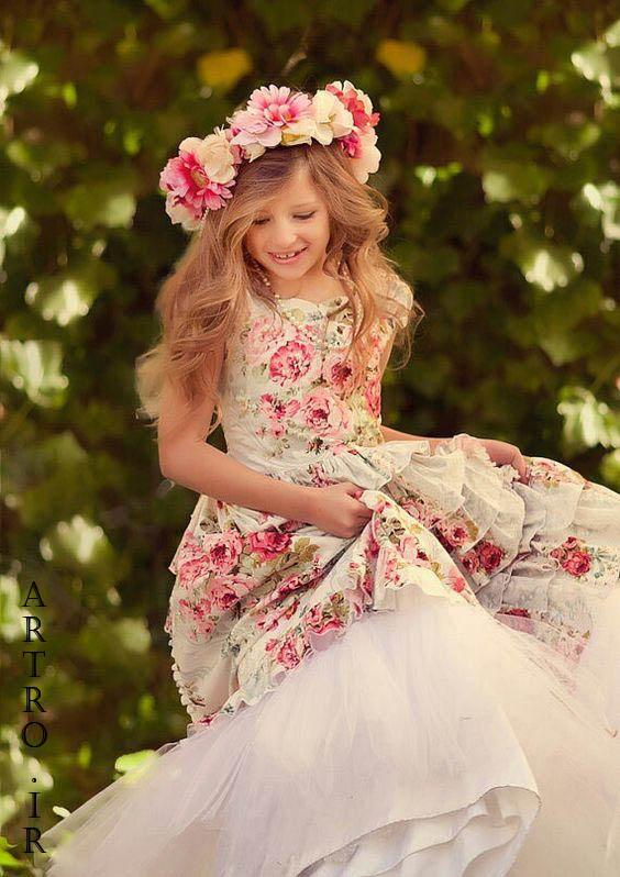 مدل لباس مجلسی دختربچه 2019
