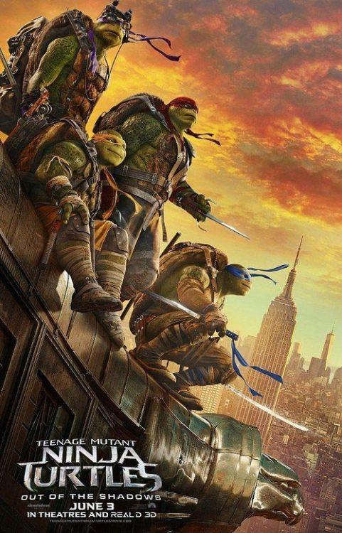 دانلود فیلم لاک پشت های نینجا 2 2016  Teenage Mutant Ninja Turtles 2