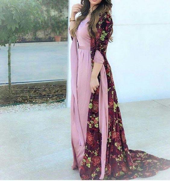 مدل لباس زنانه کردی 2019