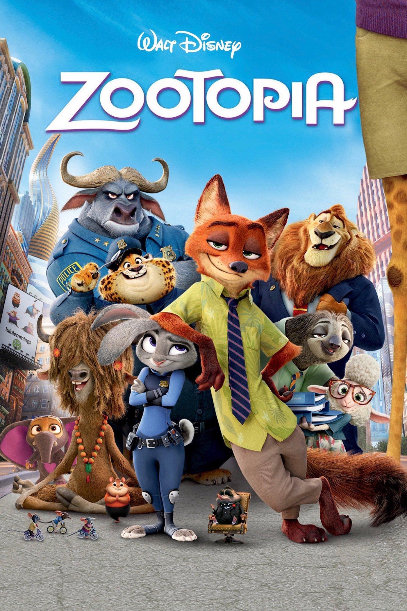 دانلود انیمیشن شهر حیوانات یا زوتوپیا 2016 دوبله فارسی