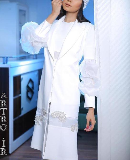 مدل مانتو عروس 2019