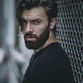 مدل مو مردانه با ته ریش و سبیل مردانه | مدل ریش کوتاه جذاب