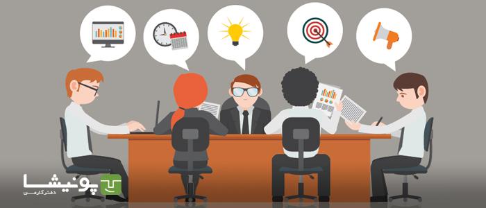 ایده های تشکیلاتی حلقه ها و جلسات