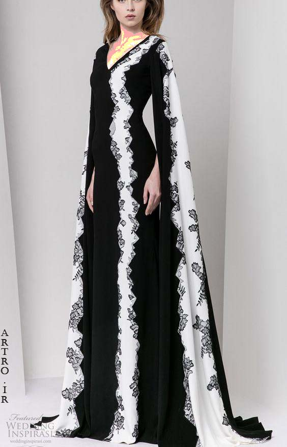 مدل لباس مجلسی بلند زنانه 98