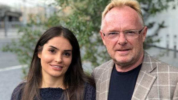 ازدواج وزیر شیلات نروژ با دختر جوان