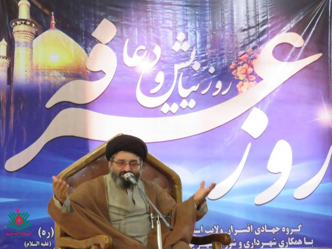 عصر امروز انجام شد؛ برگزاری دعای پرفیض عرفه با حضور جهادگران و جمعی از مردم در حسینیه شهر بوشکان