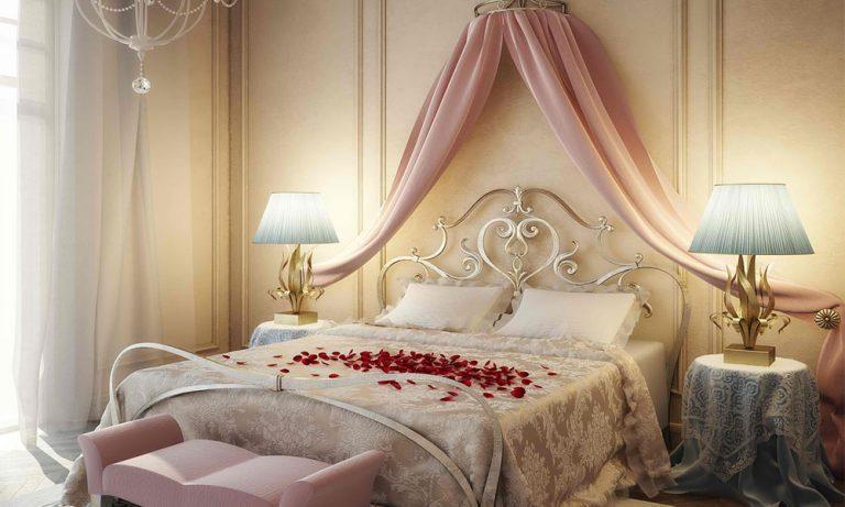 مدل تزیین اتاق خواب عروس2019