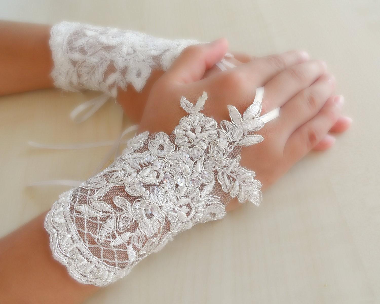 مدل دستکش عروس جدید
